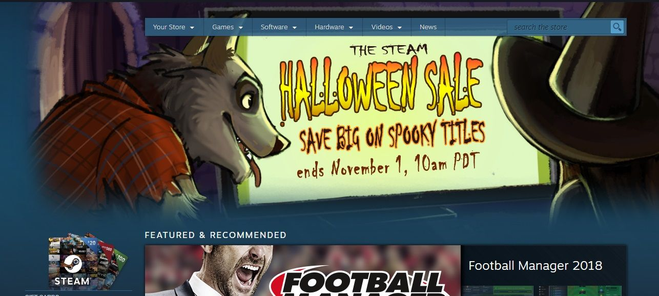 The best Steam Halloween Sale deals Gamers Pc, Sale,