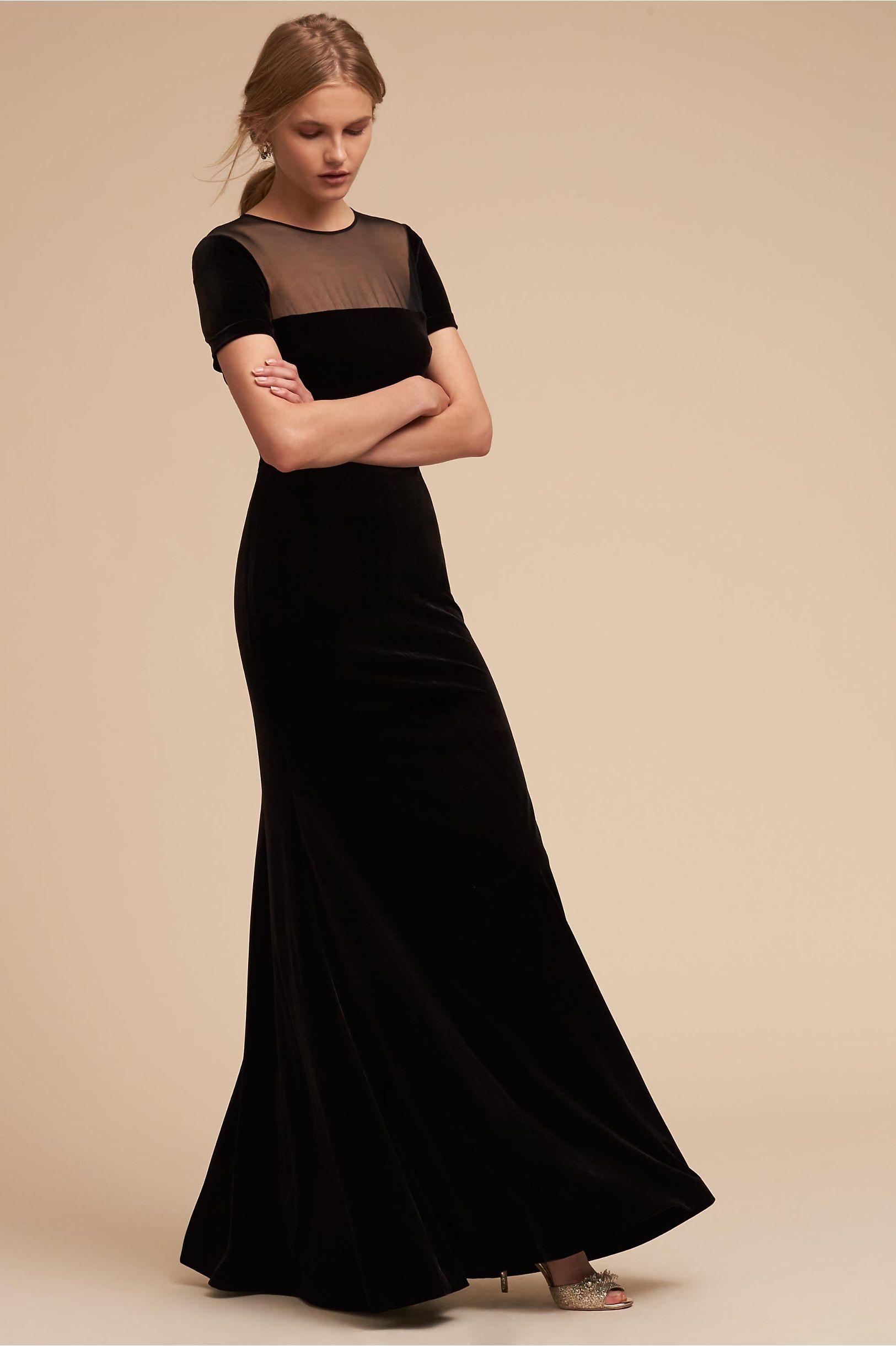 Bhldn Katia Dress Black In Occasion Dresses