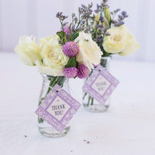 Personalized Diamond Wedding Favor Gift Tags Favours Anniversary