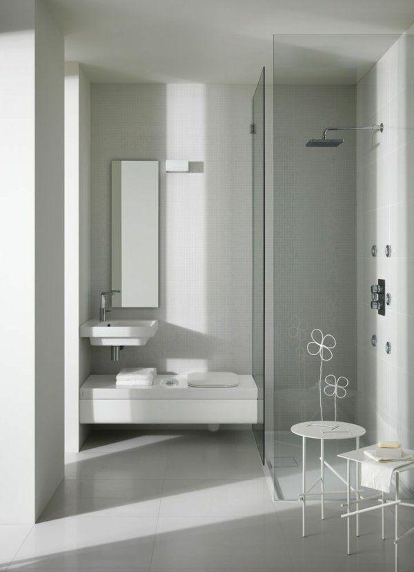 Wonderful Luxus Hausrenovierung Kleine Badezimmer Umgestaltung Ideen Hinzufugen Von Farbe Zu Modernen Badezim #9: Kleines Bad Ideen - Platzsparende Badmöbel Und Viele Clevere Lösungen