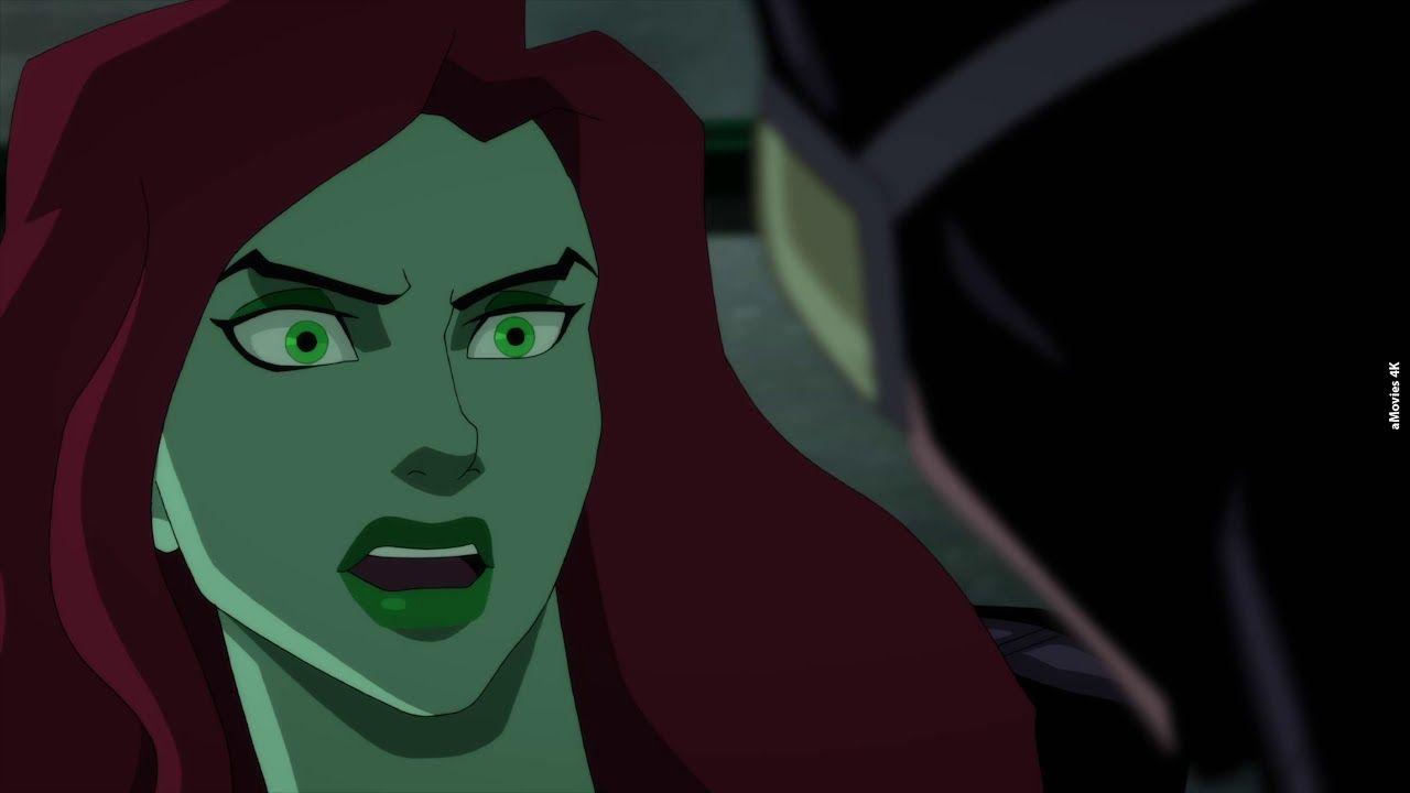 Poison Ivy Interrogation Scene Batman Hush 4k 2019 Superhero Film Story Arc Animated Movies