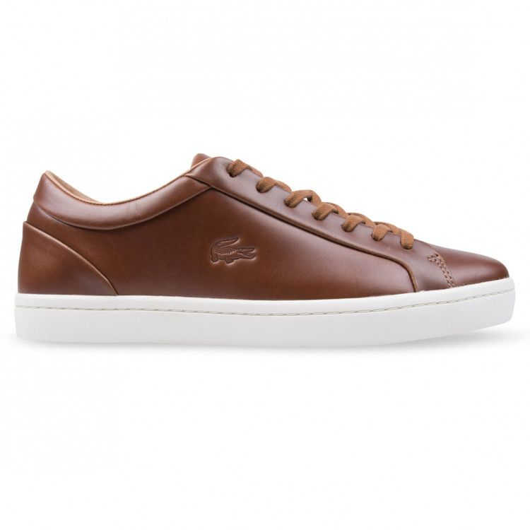 Lacoste STRAIGHTSET 317 Brown Leather