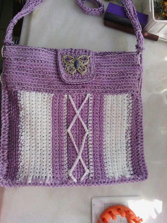 Cartera crochet by Ichao