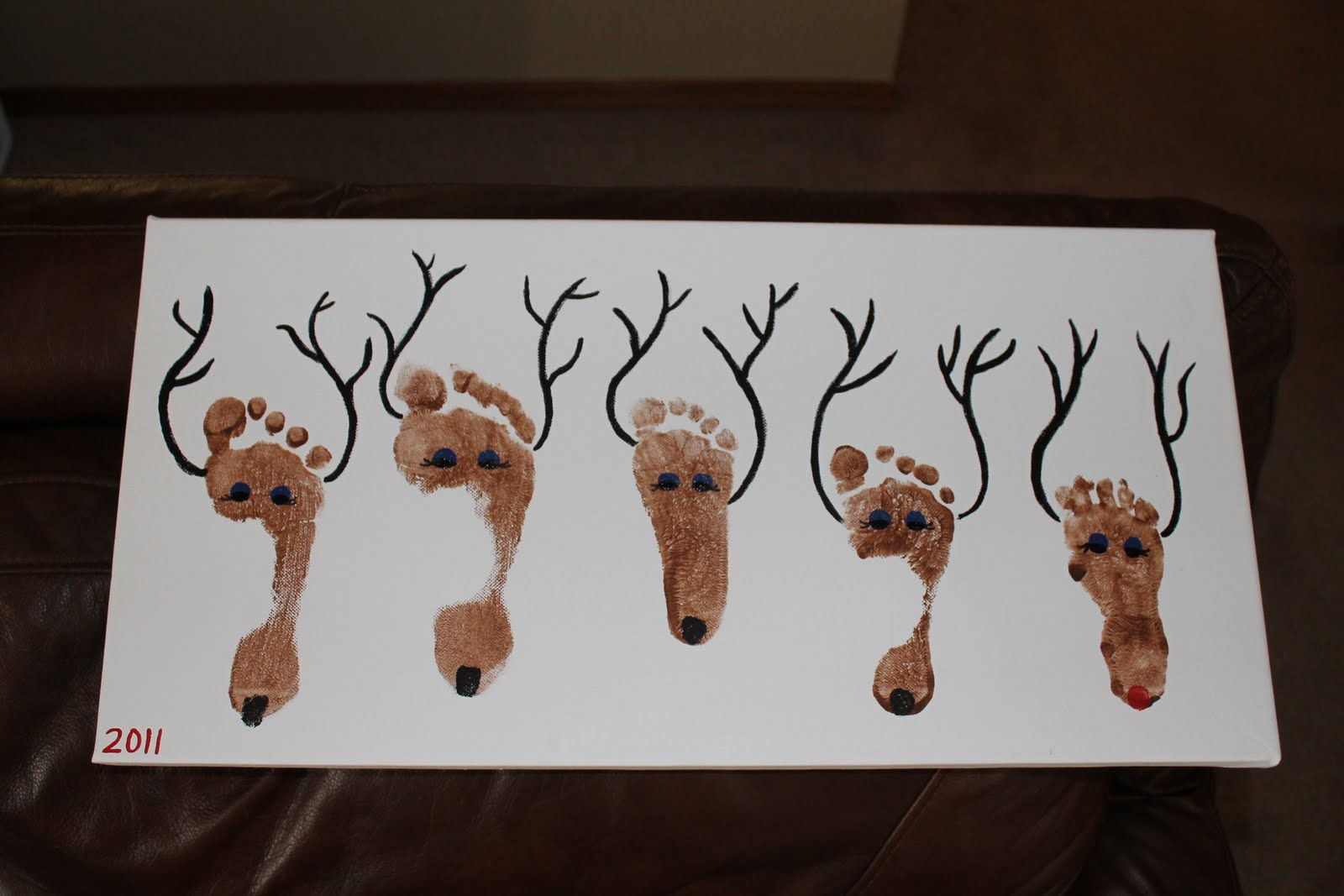 Reindeer footprints craft 1000 images about crafts for infants on