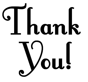 Thank You Clip Art Black And White Free Clipart Gclipart Com Appreciation Quotes Clip Art Lettering