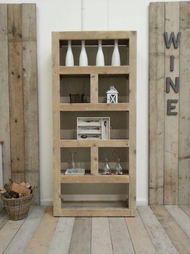 Steigerhout Kast Rikard - Steigerhout Furniture | Exclusieve ...