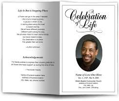 Image Result For Funeral Programs Templates