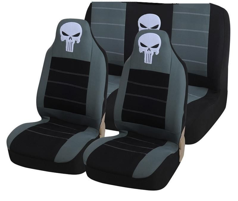 Punisher Universal Full Car Seat Cover Carseat Cover Car Seats