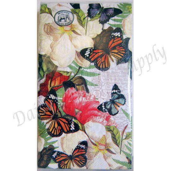 Servilletas de papel para Decoupage MAGNOLIA por DaisysNapkinSupply