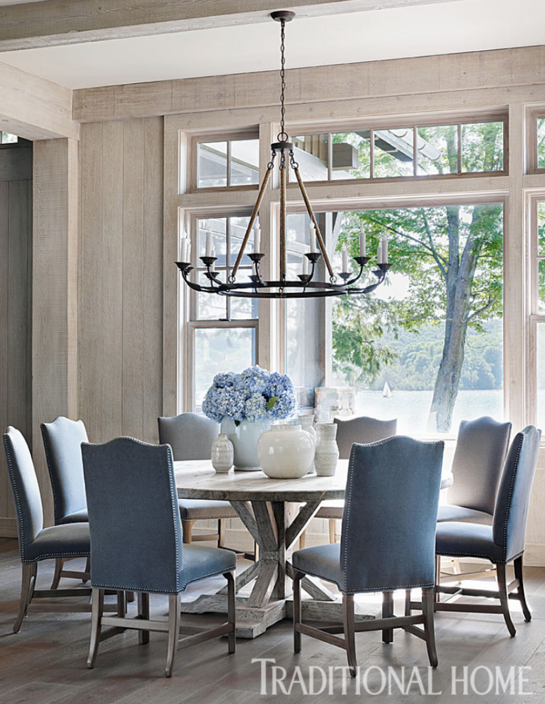 The 15 Most Beautiful Dining Rooms On Pinterest Sanctuary Home Decor French Country Dining Room Elegant Dining Room Country Dining Rooms
