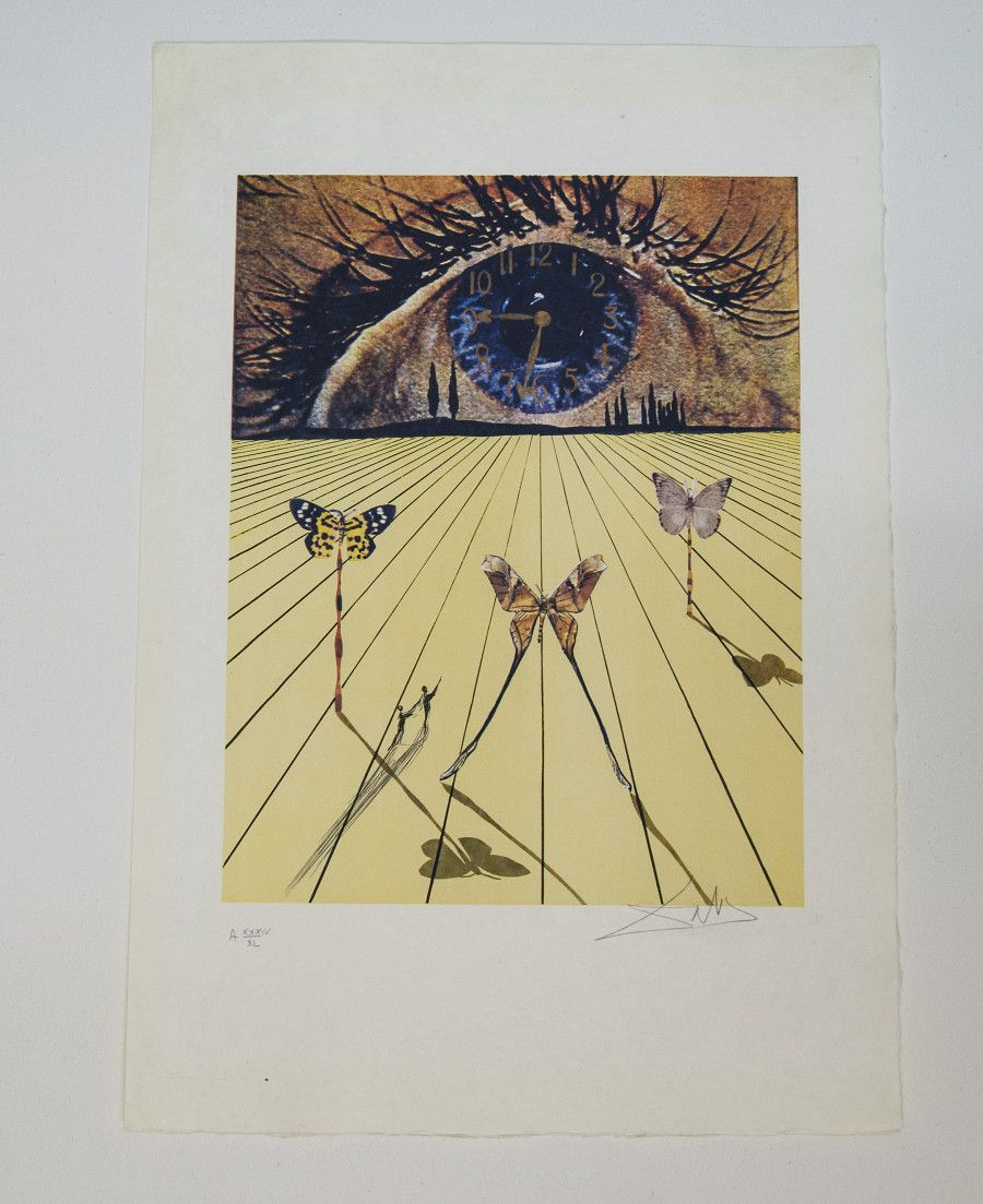 Never-Before-Seen Works By Surrealist Master Salvador Dali, On View ...