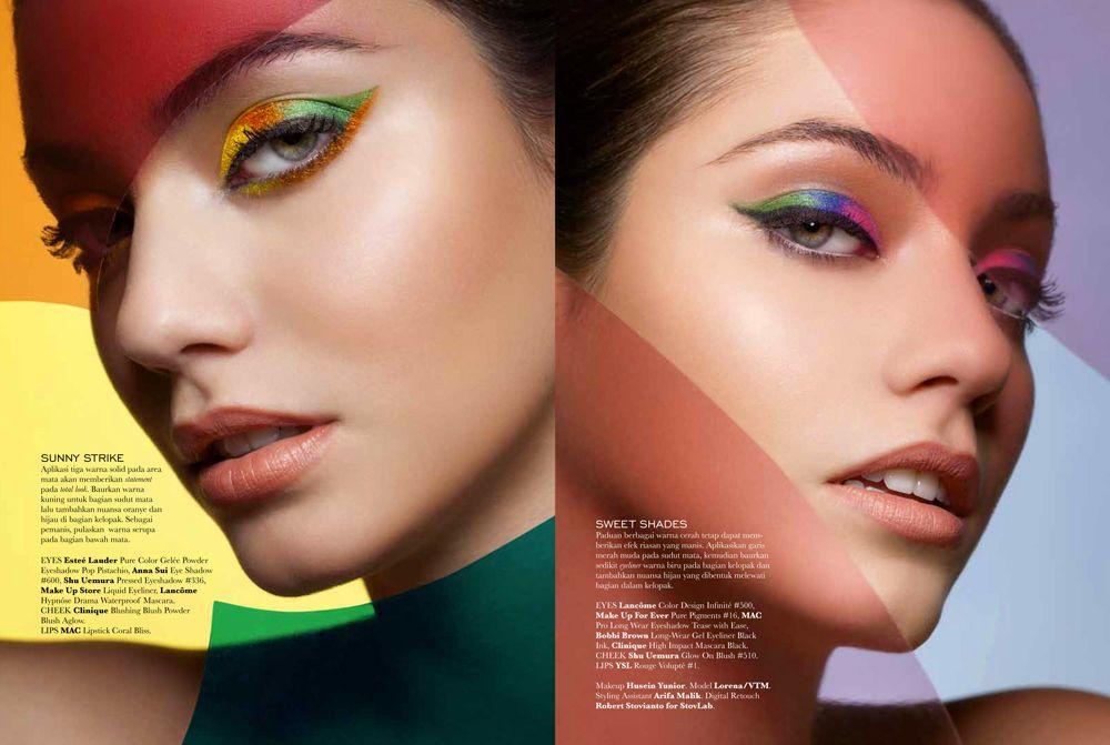 Vibrant Sight by Glenn Prasetya for Elle Indonesia July 2013