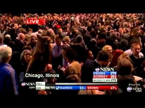 Barack Obama Wins Election 2012