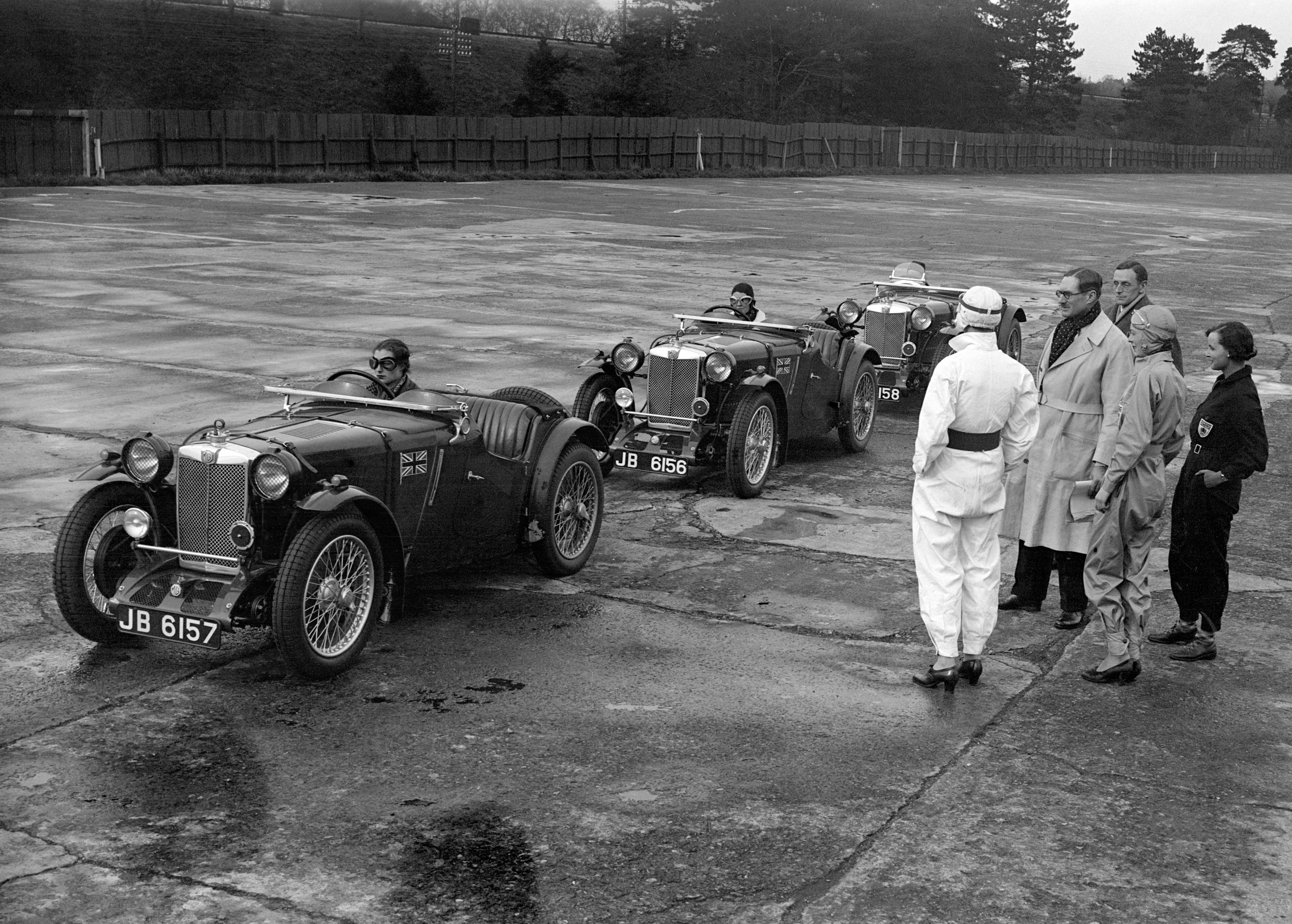 MG PA/B Le Mans Works Racing Car | Le mans, Cars and Sports cars