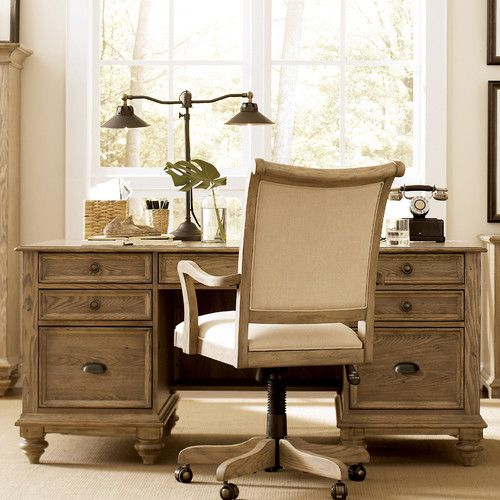 Riverside Furniture Coventry Executive Desk | Wayfair