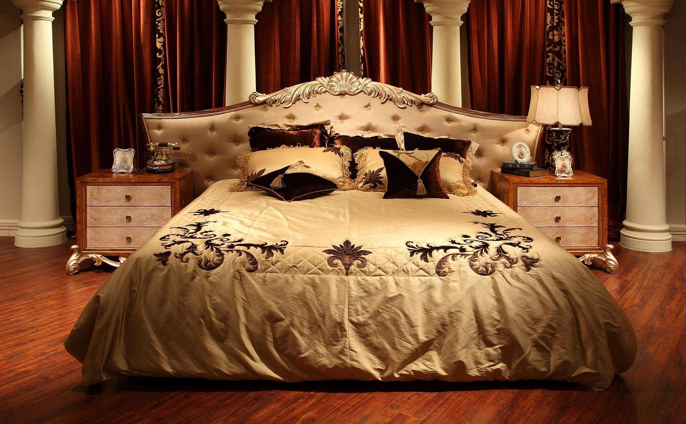 Outstanding Gorgeous 25+ Luxury King Bed Design For Luxurious Bedroom