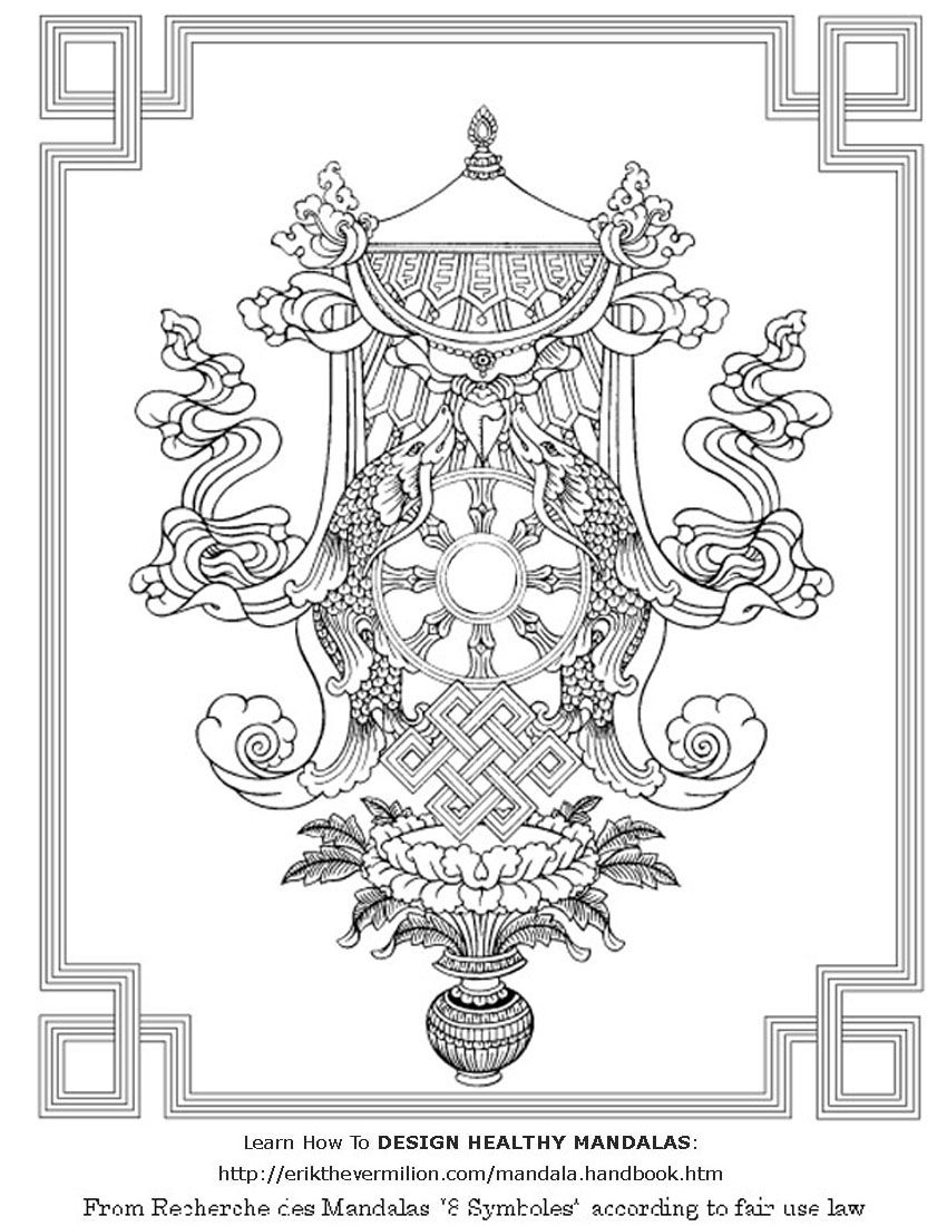 Free Printable Mandala Coloring Pages | Click The Image And You\'ll ...
