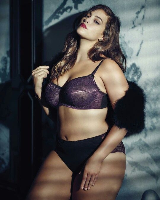 fc152604b29 Ashley Graham holiday lingerie collection