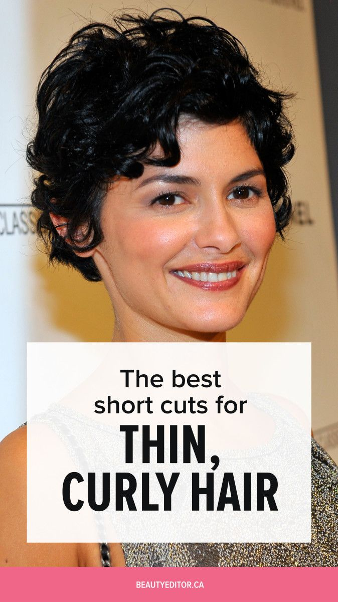 Ask A Hairstylist The Best Short Haircuts For Thin Curly