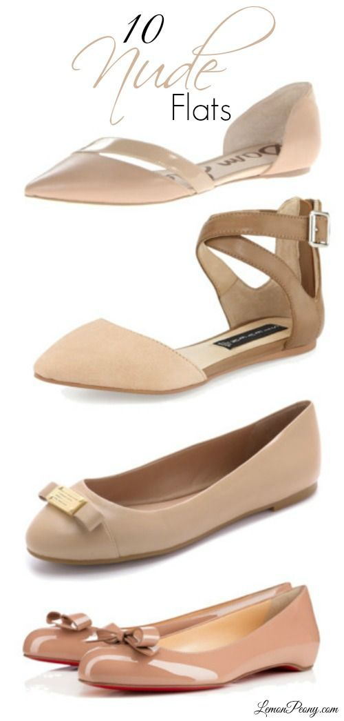 Nude Flats for Spring and Summer! The best shoes to wear to the office or  everyday! 243e3a42357