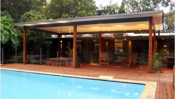 insulated patios patio roofing brisbane trueline pool and