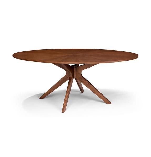 8 Seater Wood Oval Dining Table Conan Modern Mid Century Scandinavian Oval Table Dining Midcentury Modern Dining Table Modern Oval Dining Table
