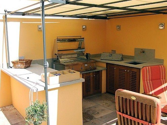 Outdoor-Küche