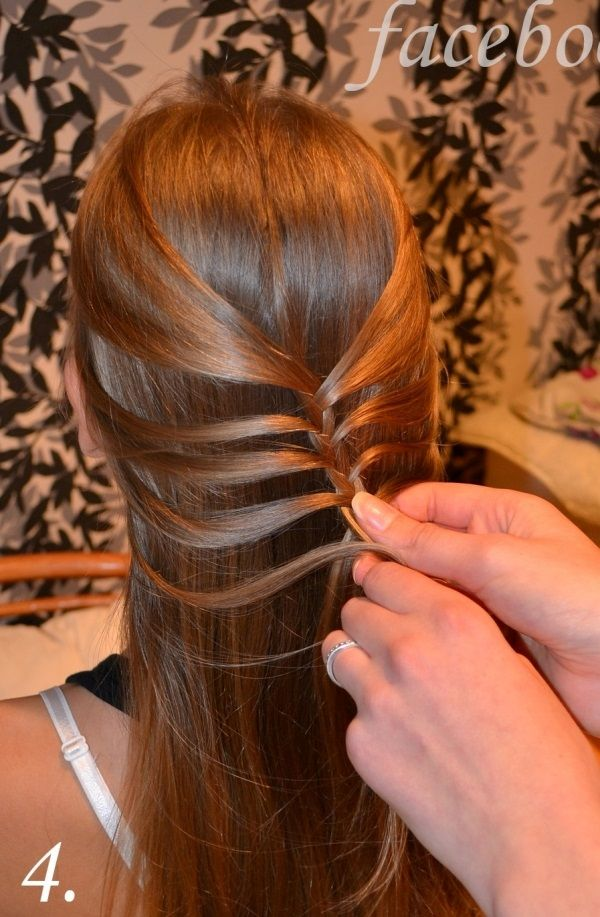 New DIY Fishtail Braid Mermaid Braid Hairstyle Style - Model Of herringbone braid Top Search