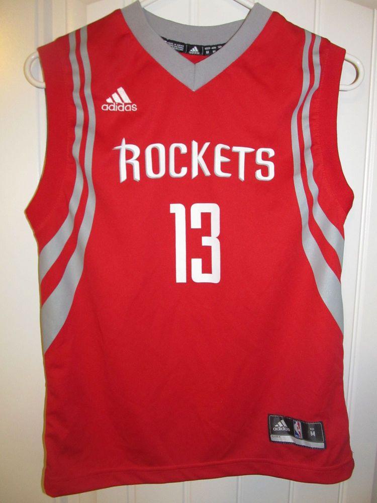 6074d35d9 James Harden - Houston Rockets jersey - Adidas Youth Medium  adidas   HoustonRockets