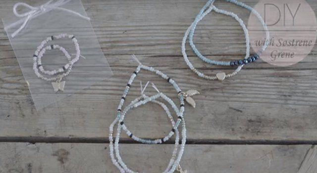 Fabriquer un bracelet de perles