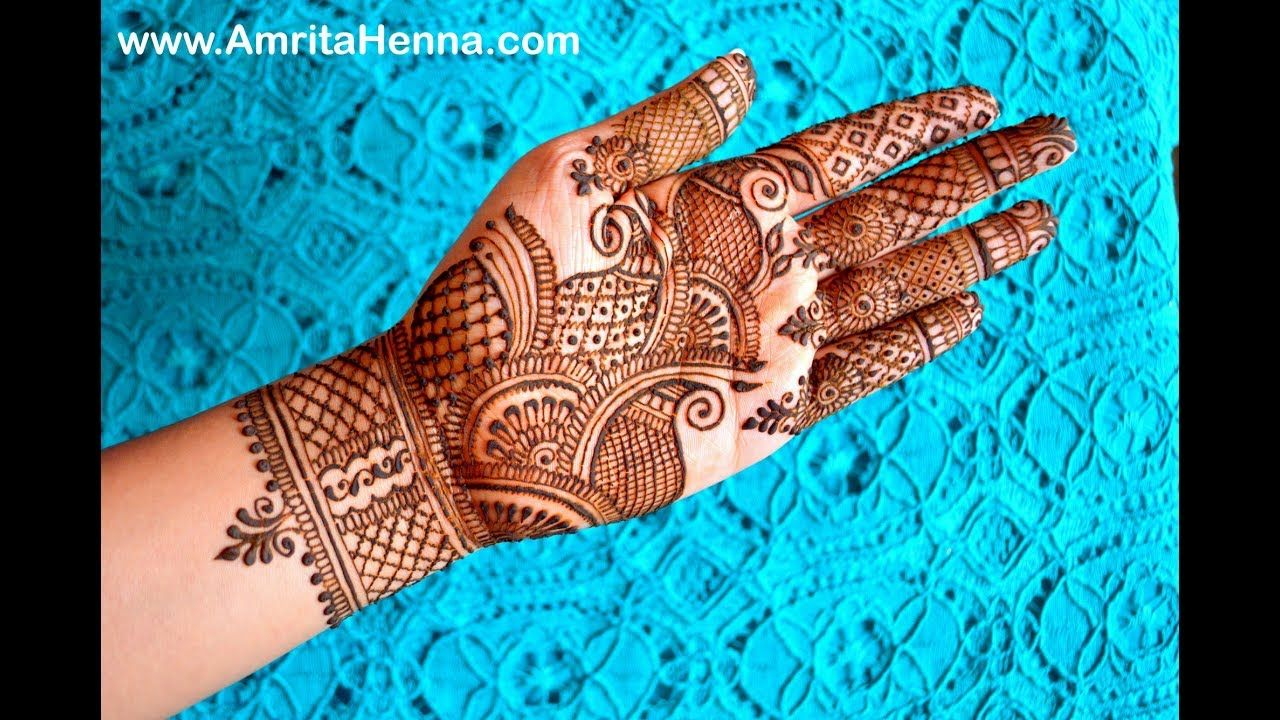 Learn Easy Traditional Rajasthani Henna Mehndi Step By Step