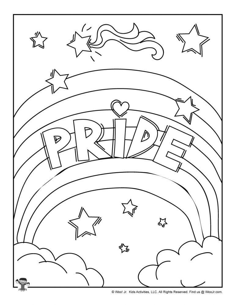 Pride Lgbtq Coloring Page Woo Jr Kids Activities Love Coloring Pages Coloring Pages Family Coloring Pages