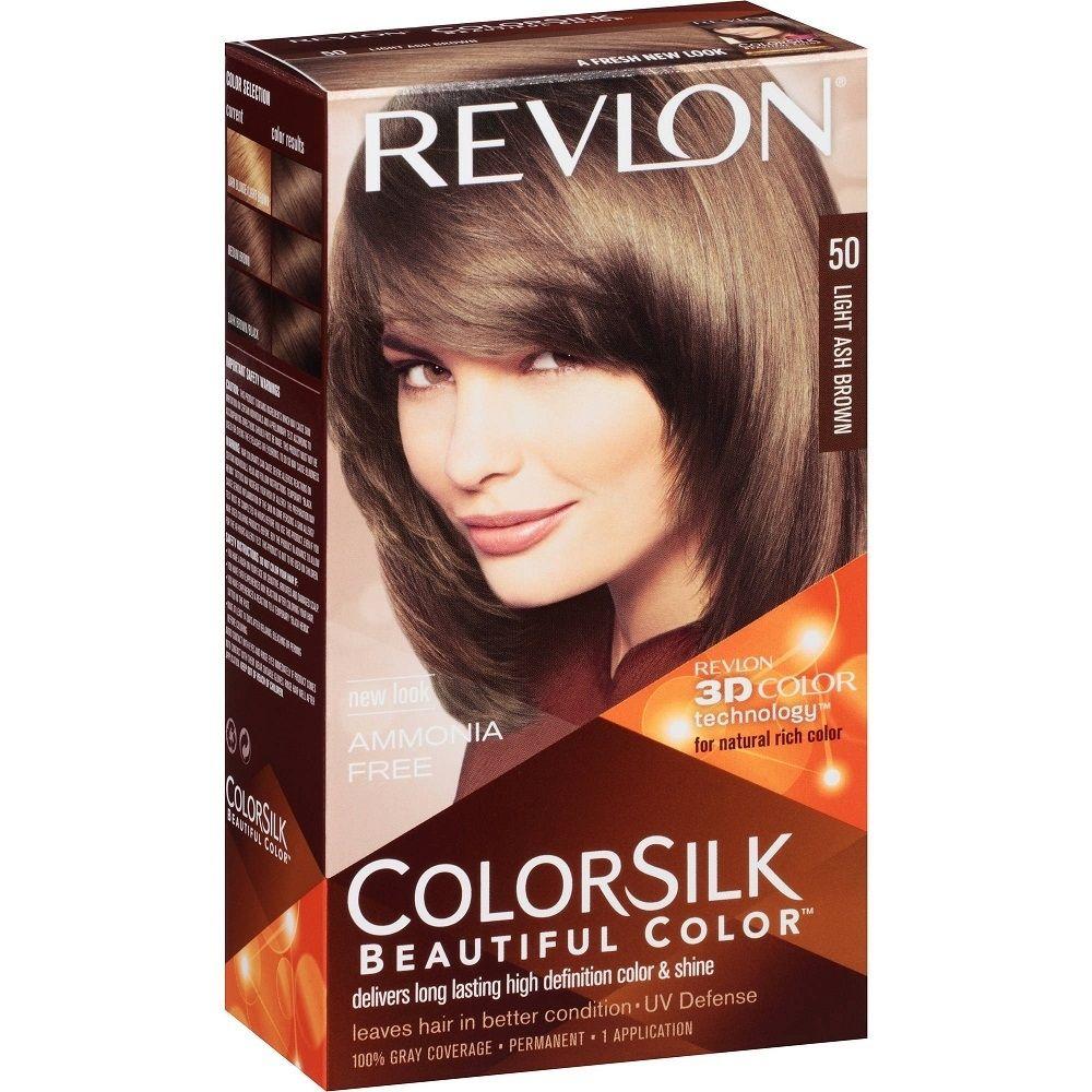 Revlon Hair Color Light Ash Brown Best Off The Shelf Hair Color