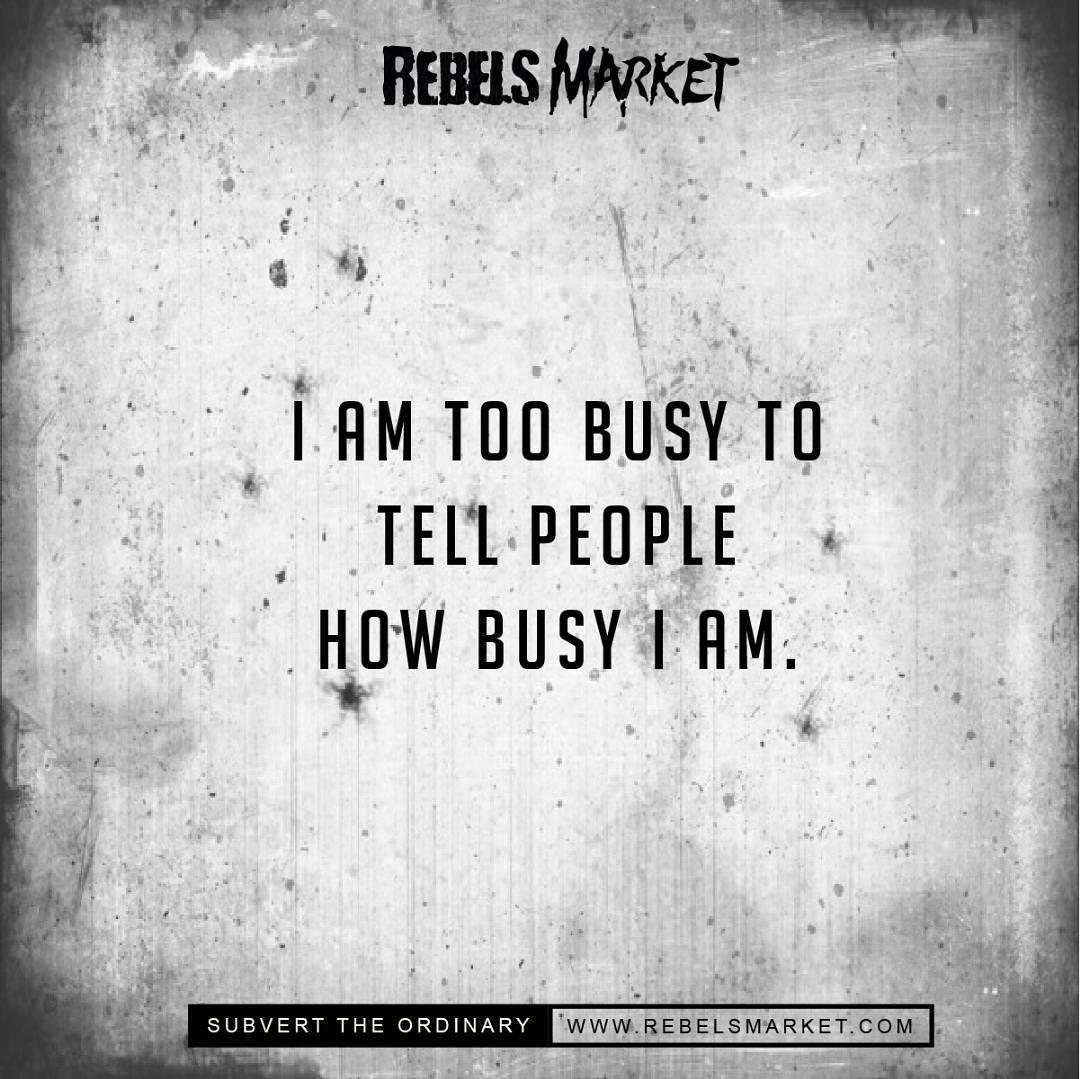 Busy RebelsMarket