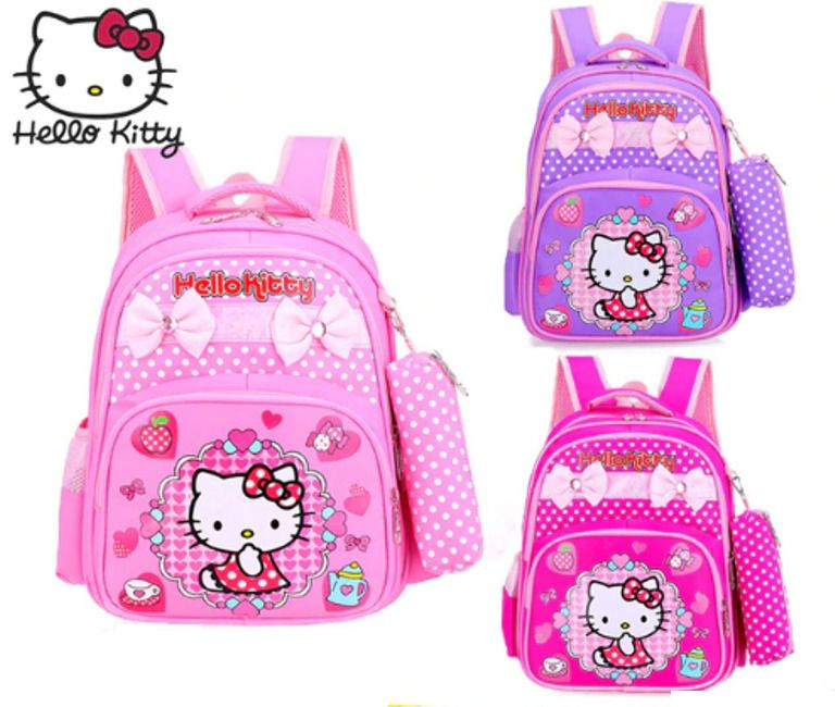 08d3e3b654 Hello Kitty Travel Bag Children s Cartoon Bow Small Class Kindergarten Baby  2018  Unbranded  Backpack