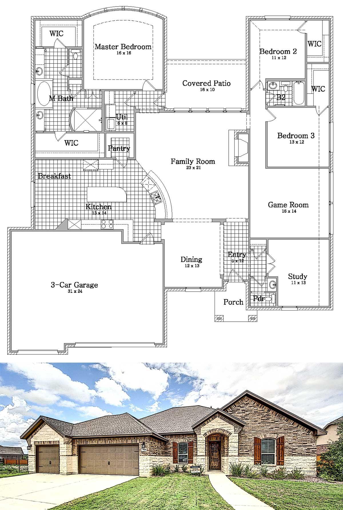 Savona Plan With Sunroom Option Imagine Homes Is A Green Home Builder In San Antonio Texas San Antonio Tx San Antonio Texas Sunroom Designs