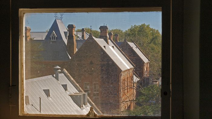 The View From A Room In The Old Male Ward Of Erindale Interesting Buildings South Australia Old Buildings
