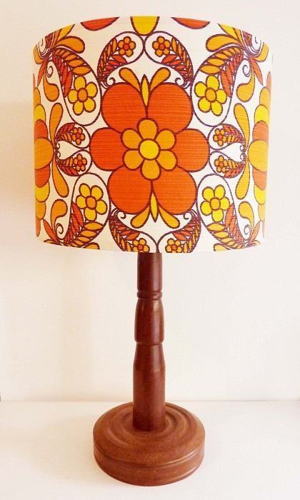 70s Style Lamp 70s Decor Retro Decor 70s Home Decor
