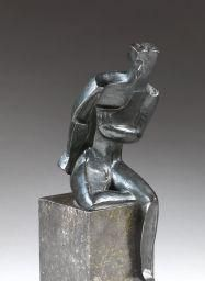 Ossip Zadkine, L'homme assis