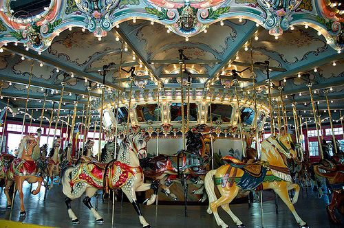 Glen Echo Park's Historic Carousel