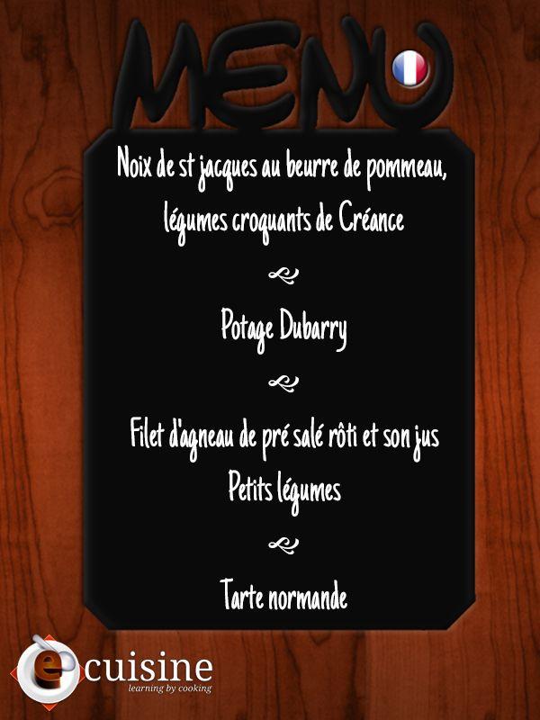 French menu In French Le menu français En français French