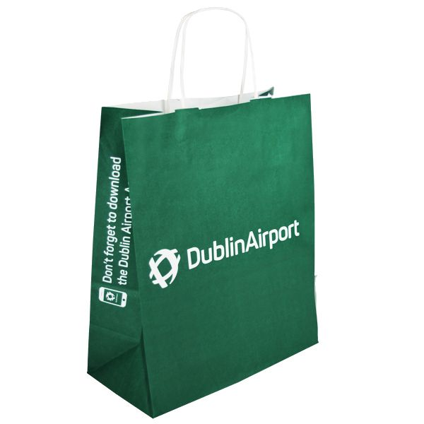 We're thrilled to supply Dublin Airport with their paper carrier bags, helping you enjoy your shopping experience #dublinairport #airport #airportshopping #paperbags #packaging #papercarriers #carrierbags #dutyfree