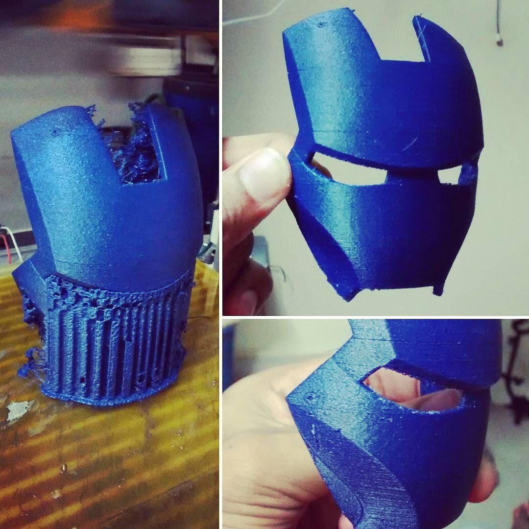 3dprinting Tutorial: 3D Printed Ironman Mask #ironman # 3dprinting #3dprinted By