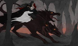 Rulers of the Underworld by IrenHorrors | Hades and ...