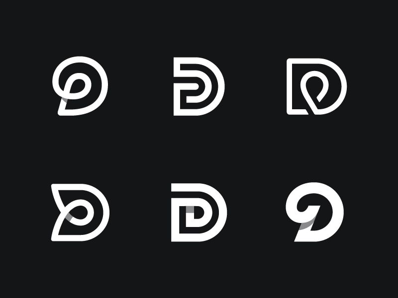 D versions logos icons and typography d versions wip by kakha kakhadzen design popular dribbble shots altavistaventures Images