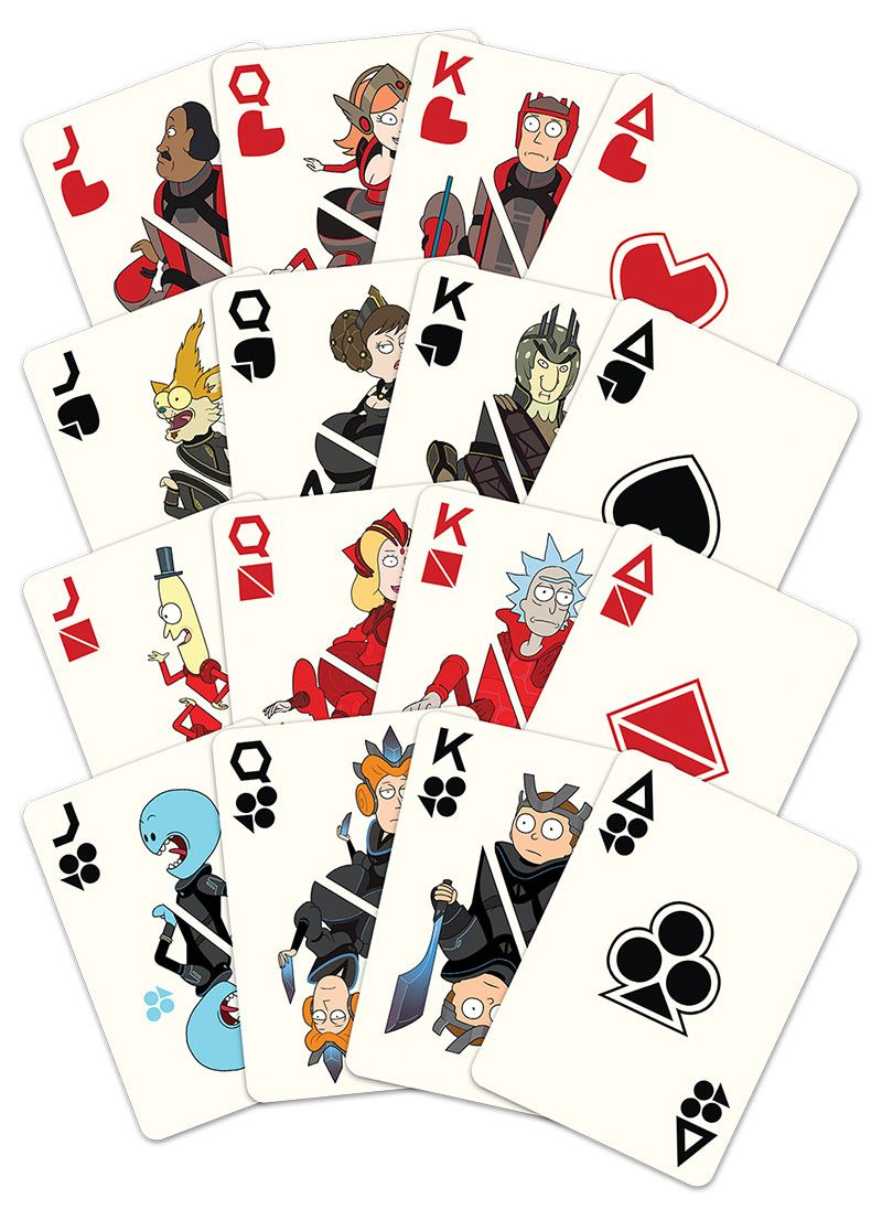 Playing Cards Rick and Morty™ Rickity Reckity RICK