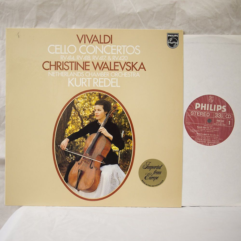 vivaldi cello concertos