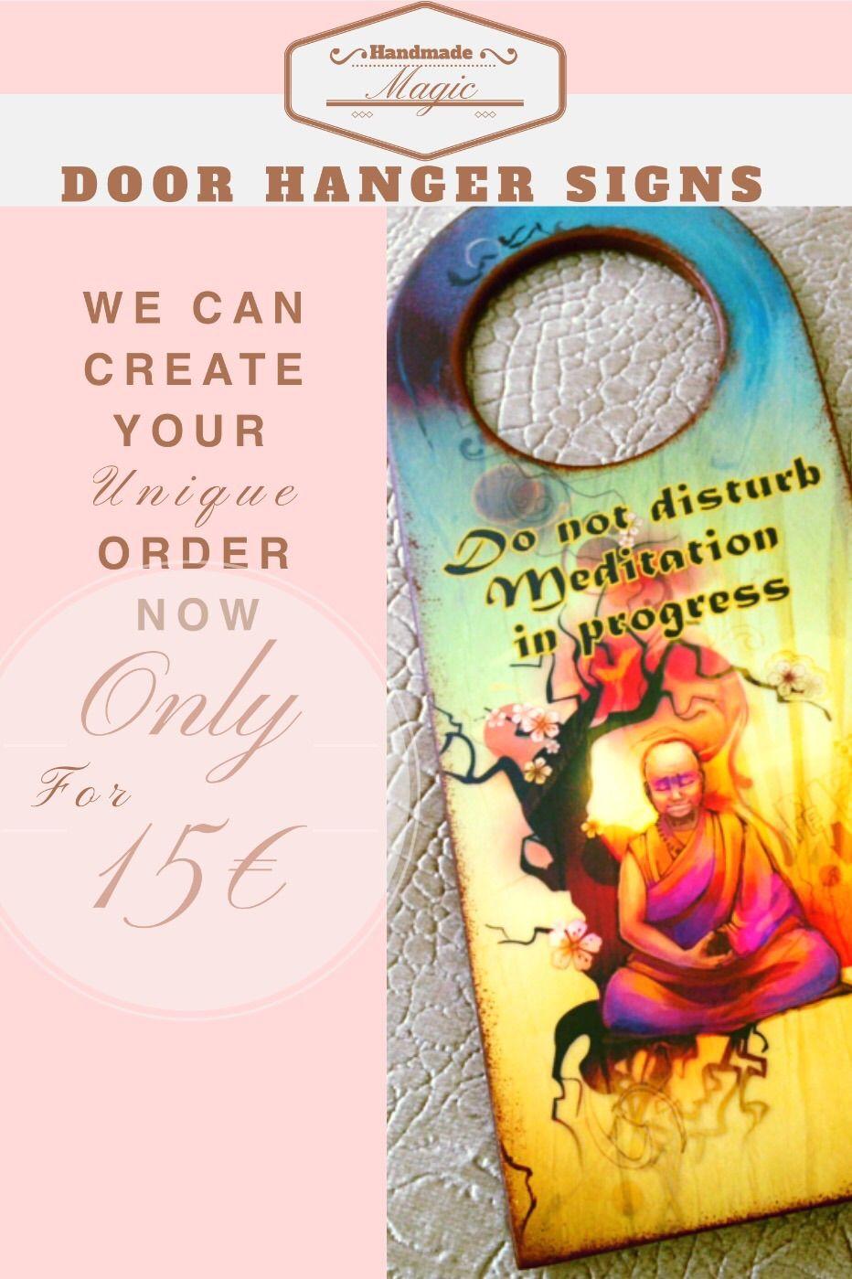 #handmade #handmademagic #doorhanger #sign #yoga #meditation #homedecor #buddha