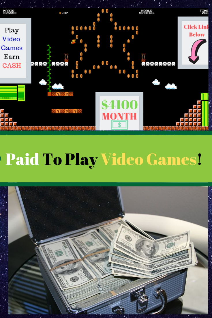 How To Get Paid Playing Video Games At Home Without A