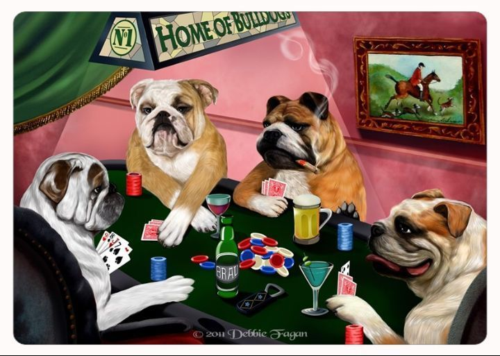 Pin On Bulldog Figurines And Products